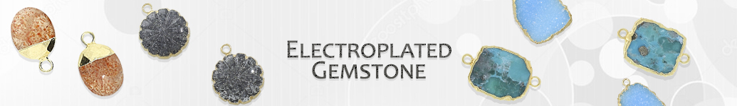 Electroplated Gemstone