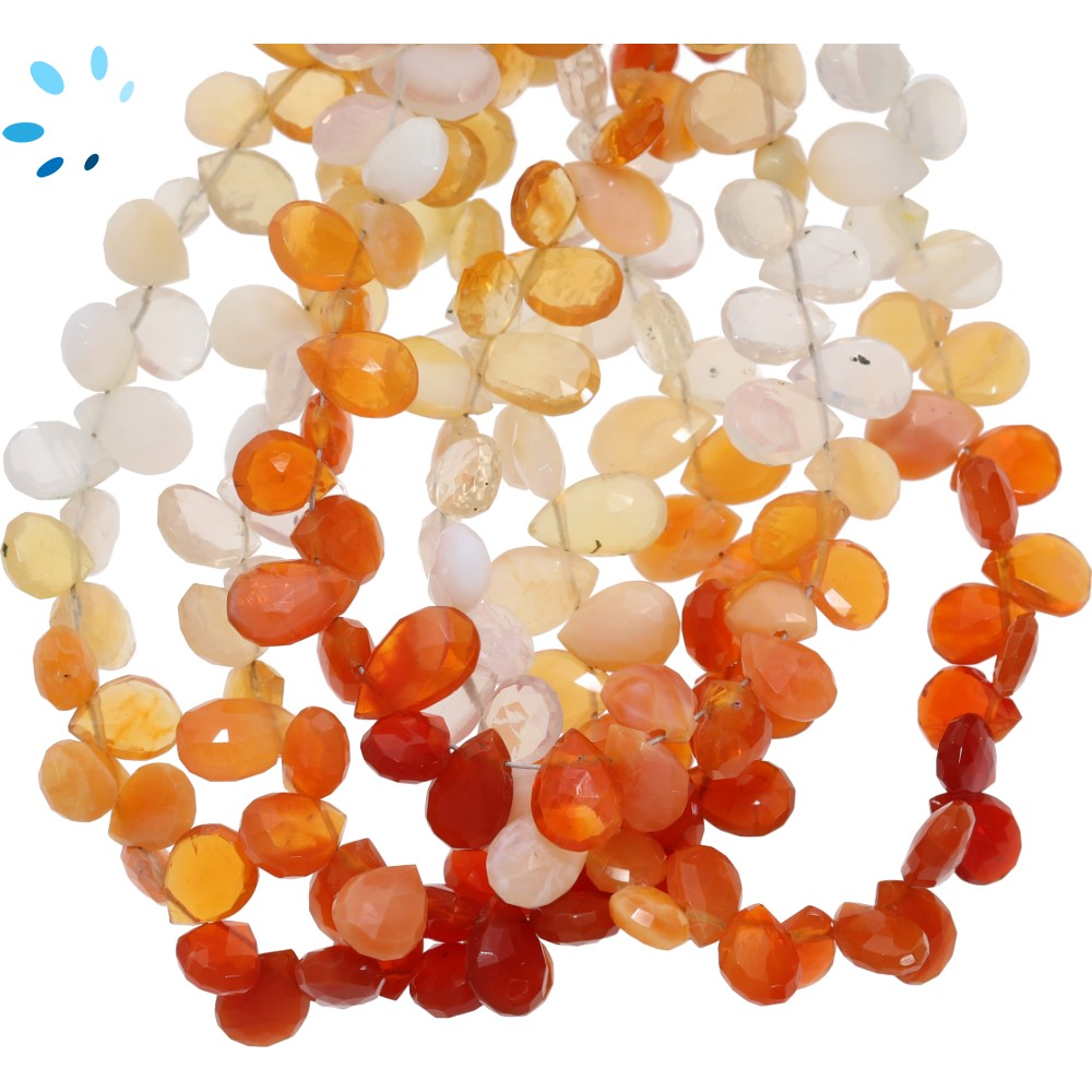 Mexican Fire  Opal Beads
