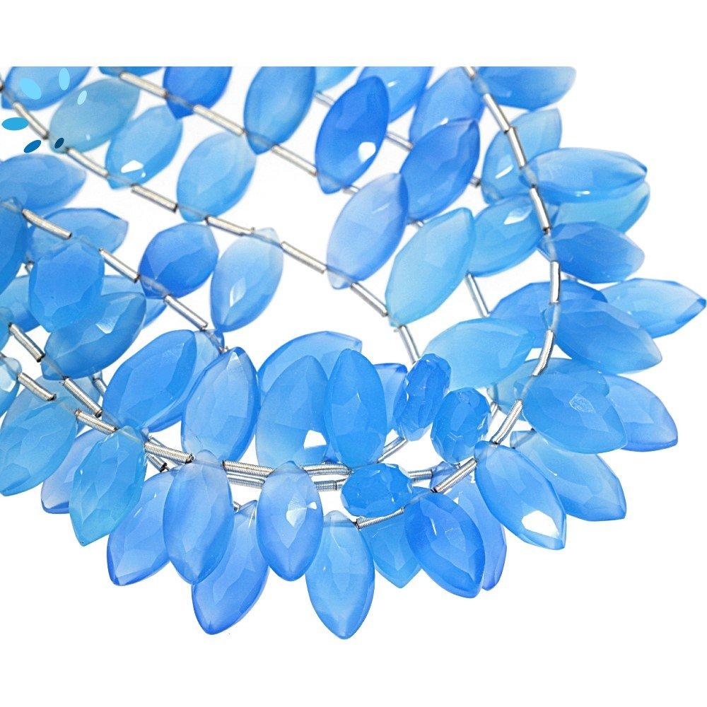 Chalcedony Beads (Treated)