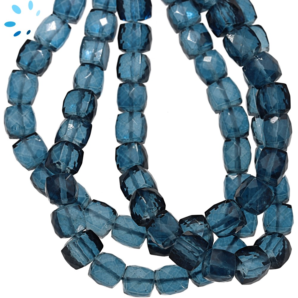 London Blue Quartz Beads