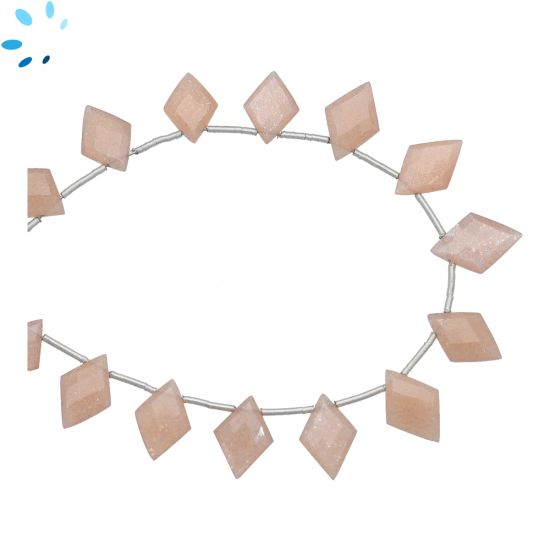 Sunstone Faceted Fancy Kite Top Side Drill 12x9 - 14x10 mm