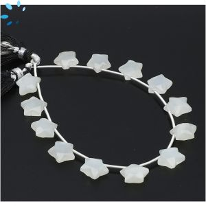 Moonstone Faceted Star Shape 9x9 - 10x10mm Beads