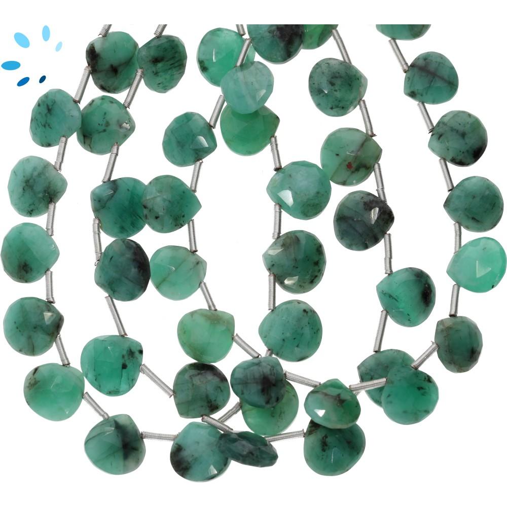 Raw Emerald Beads