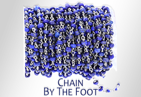 Chain by the foot